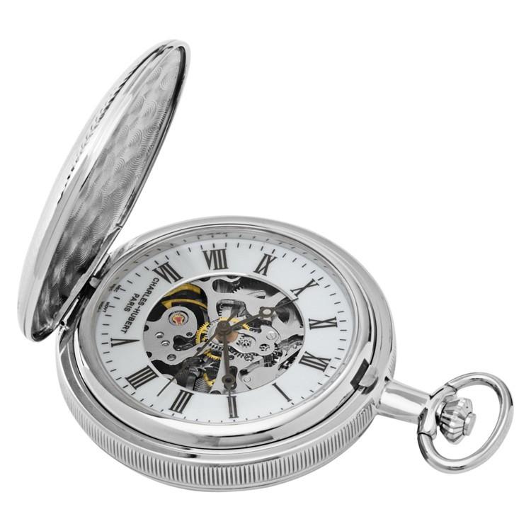 Double Hunter Case Mechanical Pocket Watch