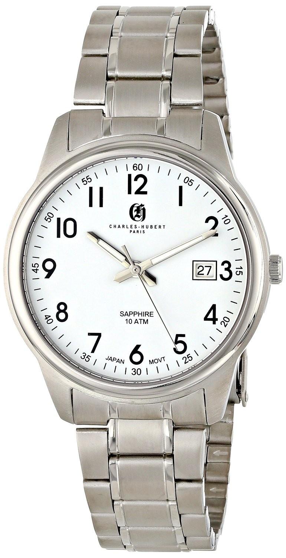 Charles-Hubert Paris Men's Titanium Quartz Watch