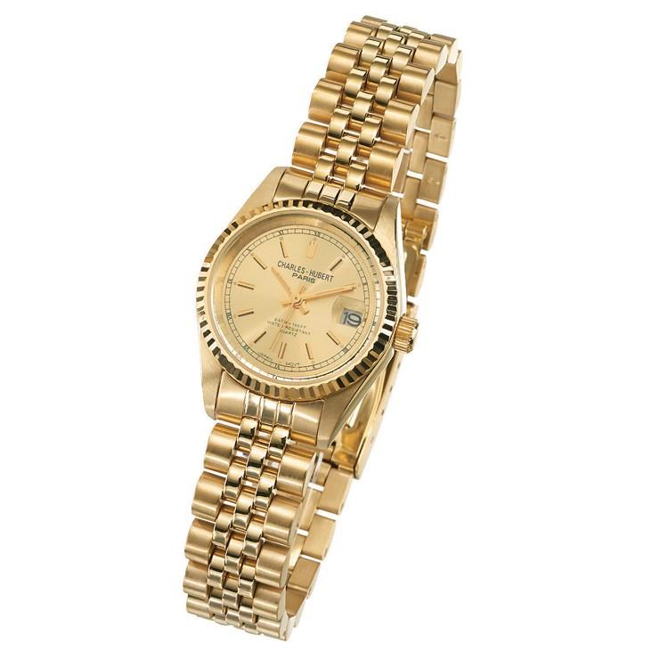 Charles Hubert Premium Collection Women's Watch #6635-GY