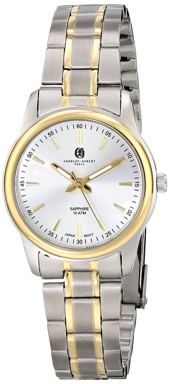 Charles-Hubert Paris Women's Two-Tone Titanium Quartz Watch