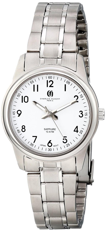 Charles-Hubert Paris Women's Titanium Quartz Watch
