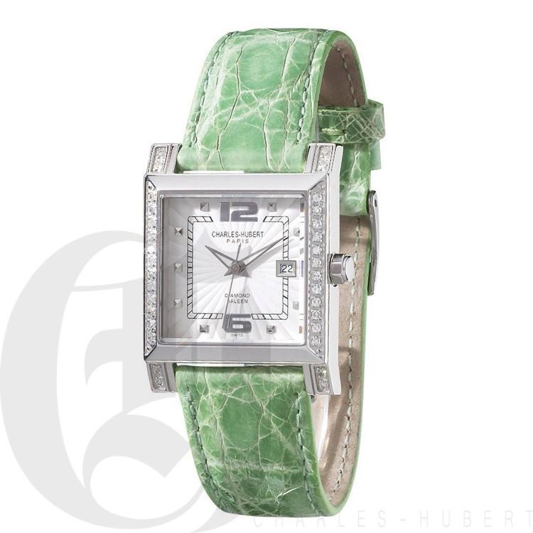 Charles Hubert Diamond Baleen Collection  Watch #18310-WGC