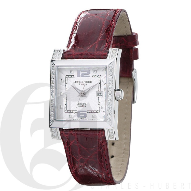 Charles Hubert Diamond Baleen Collection  Watch #18310-WHC