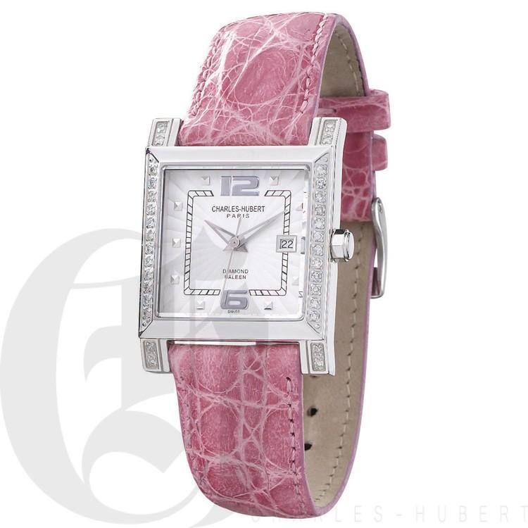 Charles Hubert Diamond Baleen Collection  Watch #18310-WLC
