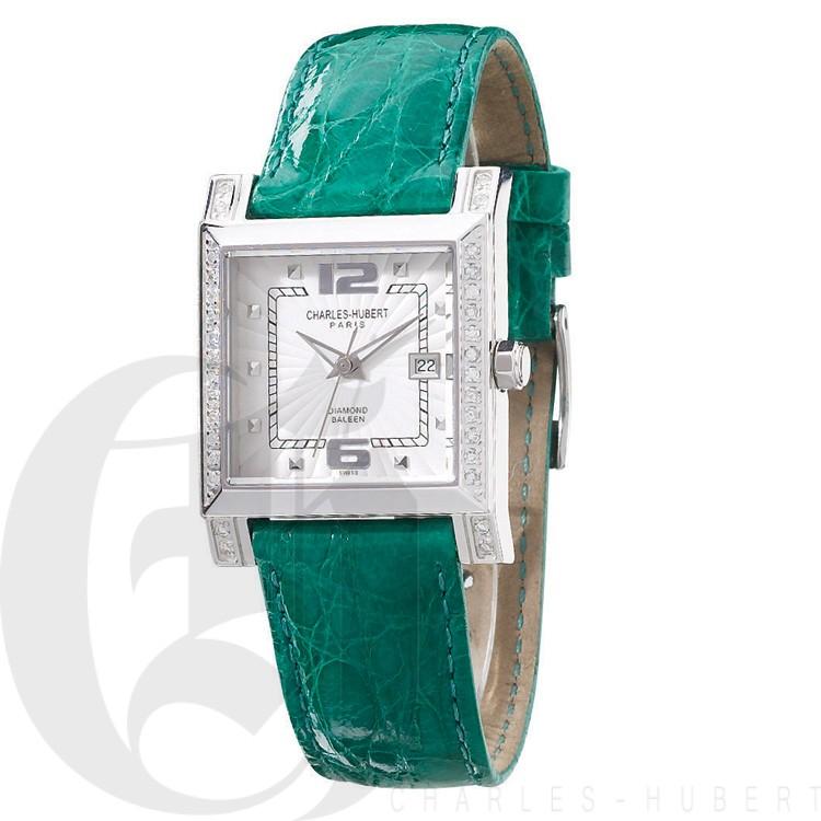 Charles Hubert Diamond Baleen Collection  Watch #18310-WTC