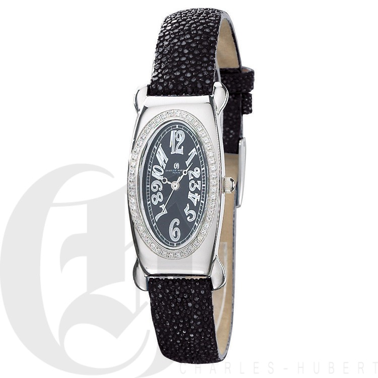 Charles Hubert Diamond Baleen Collection  Watch #18312-BB