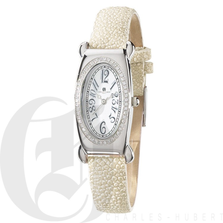 Charles Hubert Diamond Baleen Collection  Watch #18312-WF