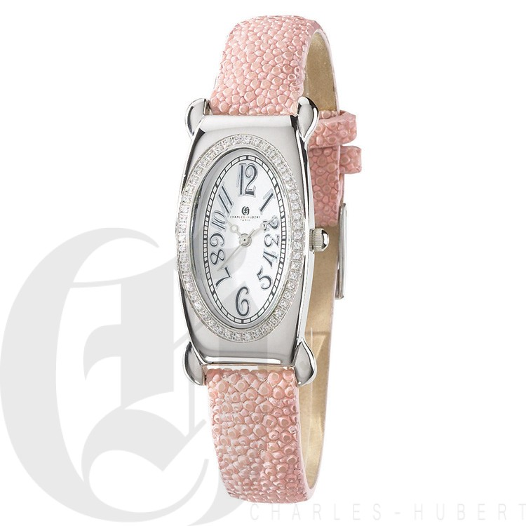 Charles Hubert Diamond Baleen Collection  Watch #18312-WL