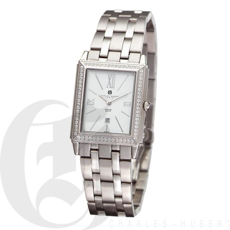 Charles Hubert Diamond Baleen Collection  Watch #18313-W