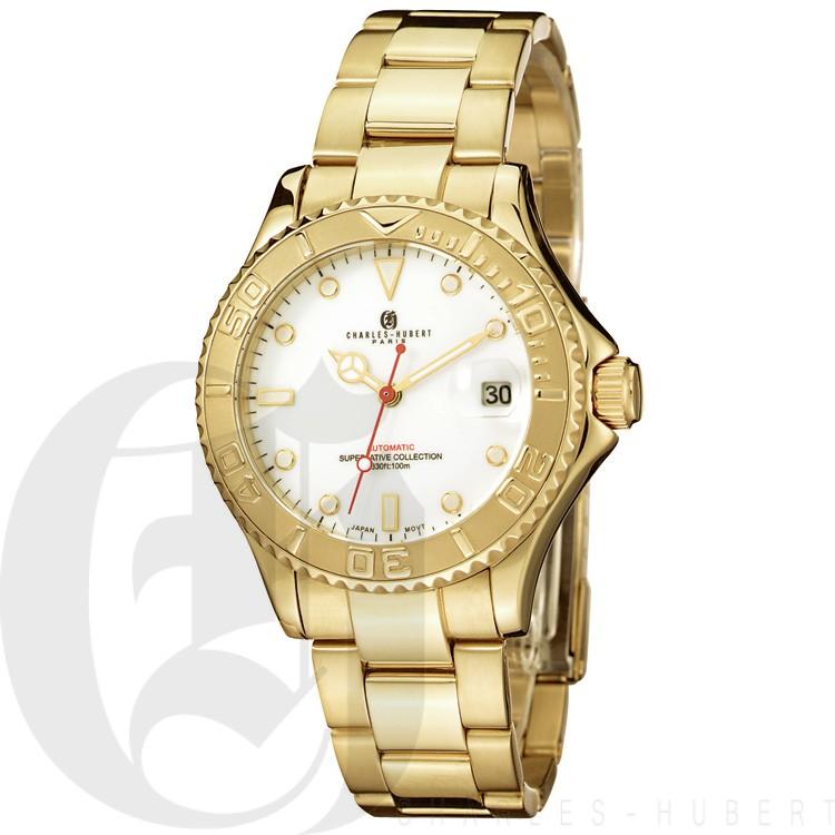 Charles Hubert Premium Collection Men's Watch #3514-GW