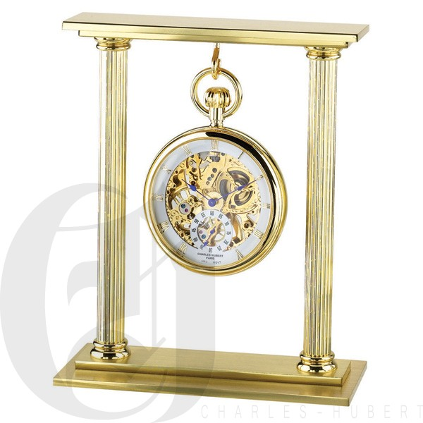 Gold-Plated Pocket Watch Stand