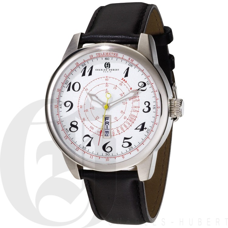 Charles Hubert Premium Collection Men's Watch #3776-WB