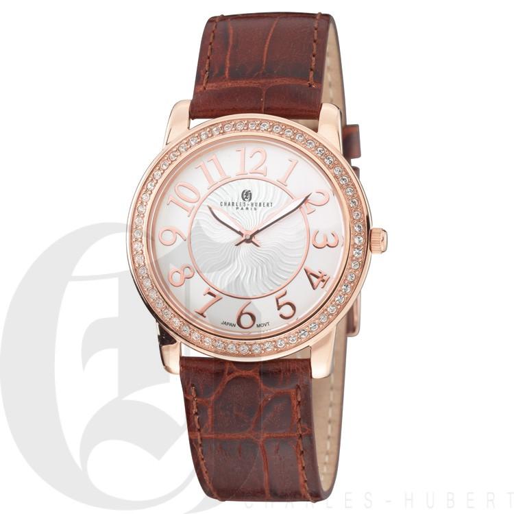 Charles Hubert Premium Collection Men's Watch #3813-RG