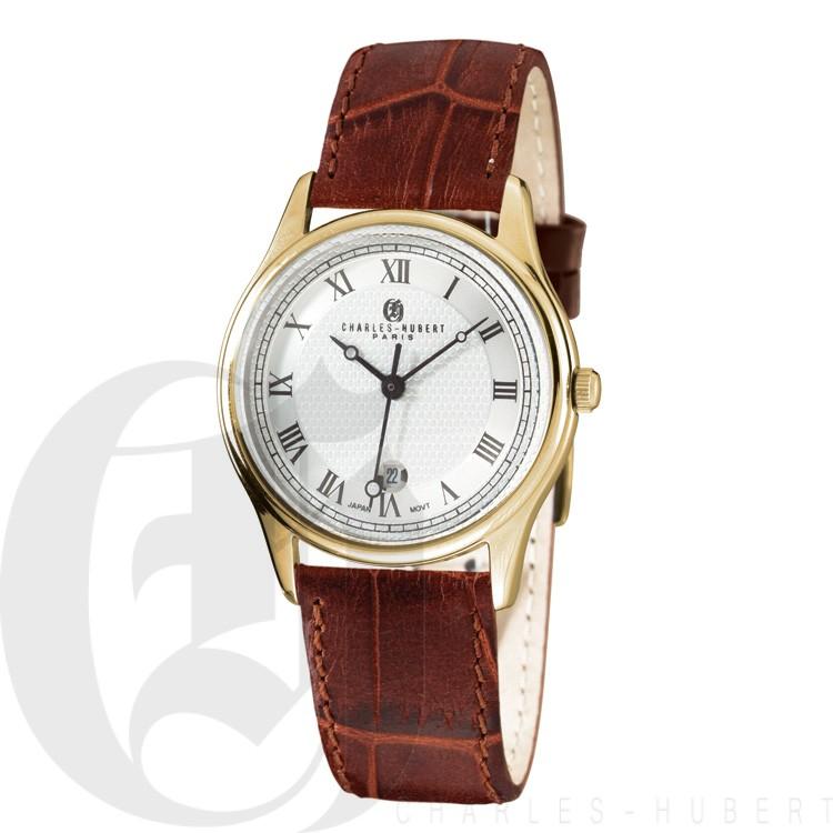 Charles Hubert Premium Collection Men's Watch #3814-GW