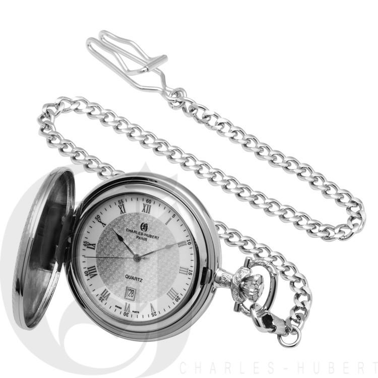 Hunter Case Quartz Pocket Watch