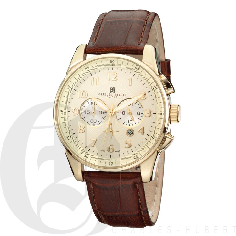 Charles Hubert Premium Collection Men's Watch #3824-C