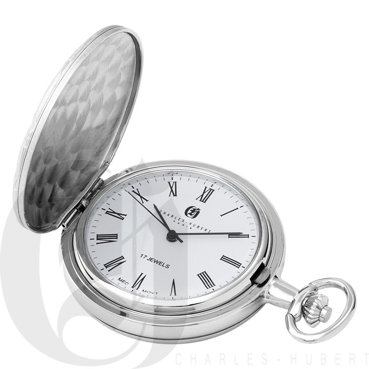 Hunter Case Mechanical Pocket Watch