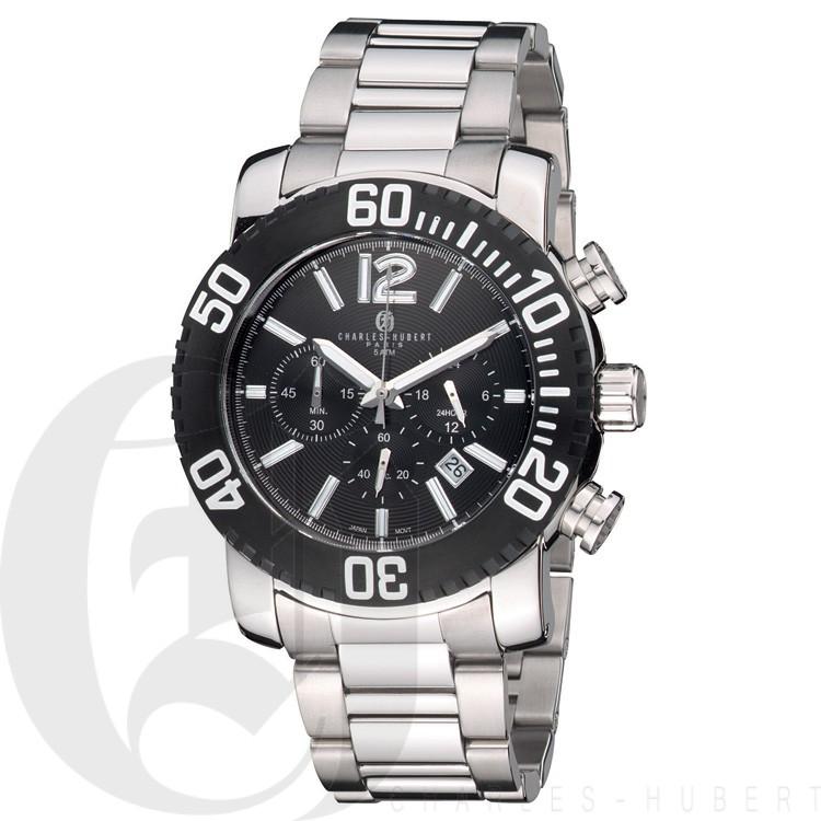 Charles Hubert Premium Collection Men's Watch #3855-B