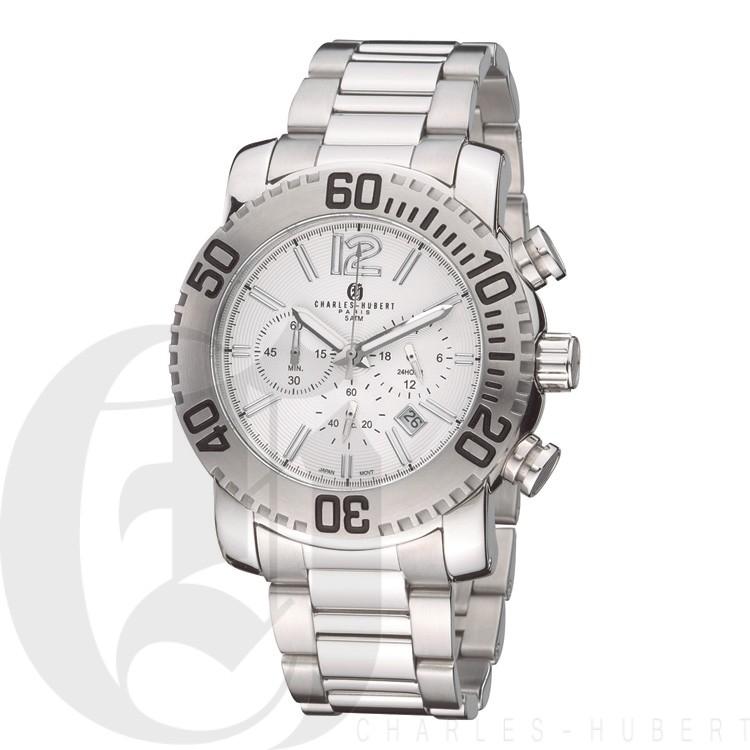 Charles Hubert Premium Collection Men's Watch #3855-W