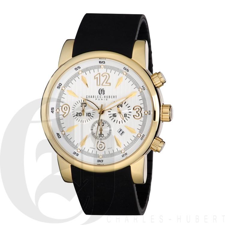 Charles Hubert Premium Collection Men's Watch #3882-G