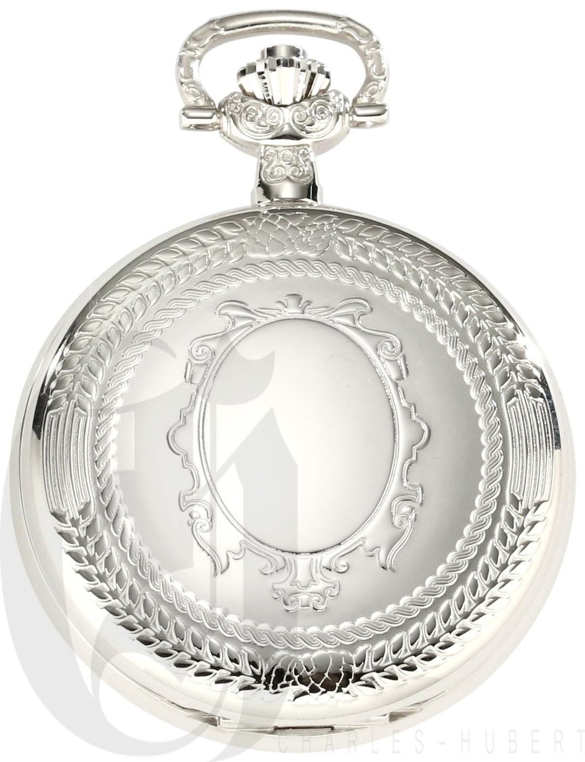 Charles-Hubert Paris Hunter Case Quartz Pocket Watch