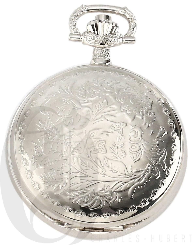 Charles-Hubert Paris Hunter Case Quartz Pocket Watch