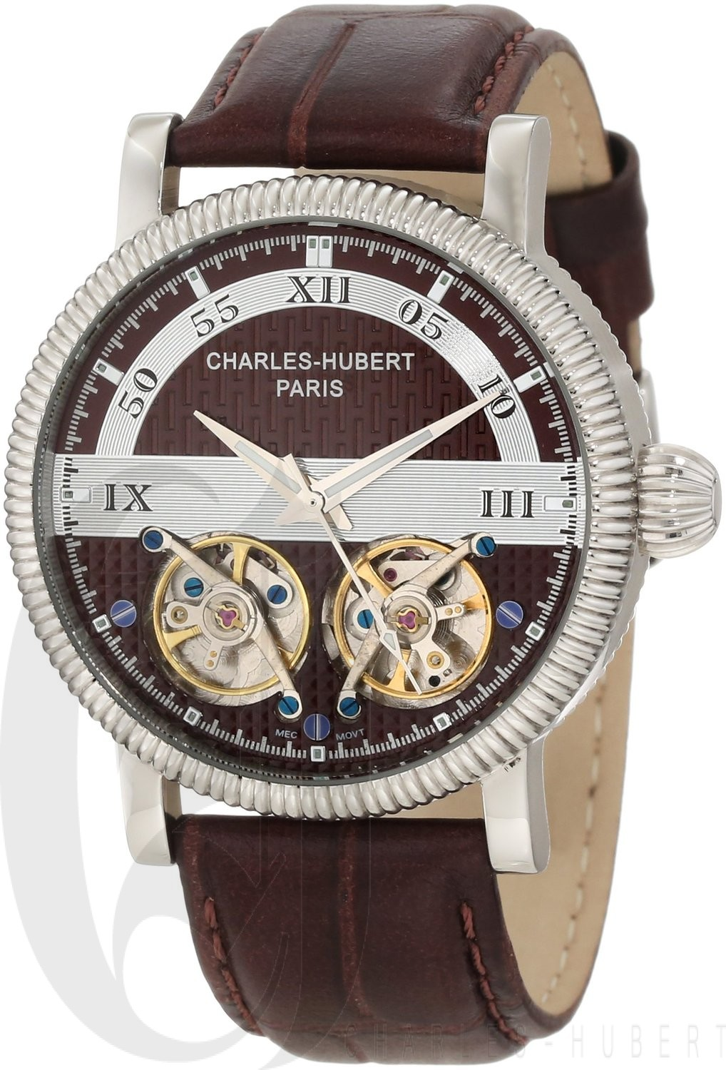 Charles-Hubert Paris Men's Stainless Steel Automatic Watch