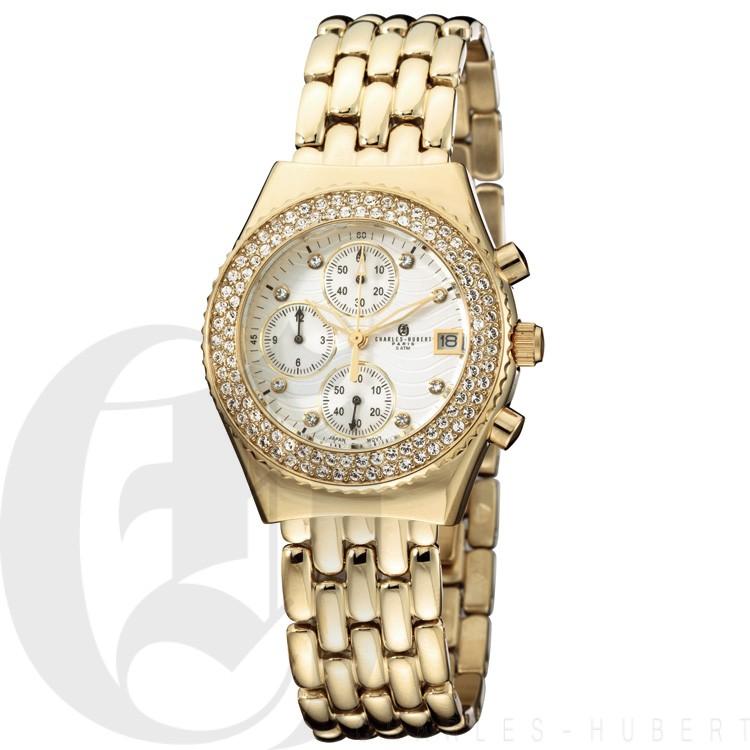 Charles Hubert Premium Collection Women's Watch #6619-GM