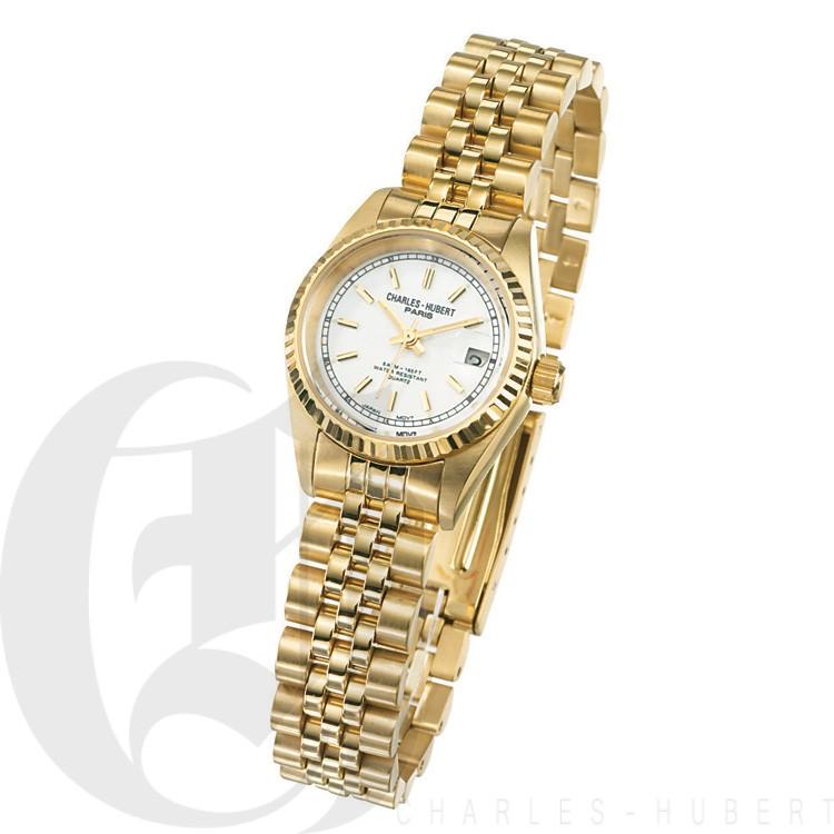 Charles Hubert Premium Collection Women's Watch #6635-GW