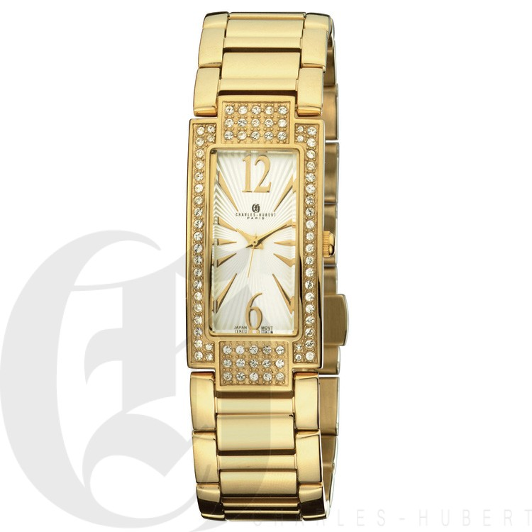 Charles Hubert Premium Collection Women's Watch #6770-G