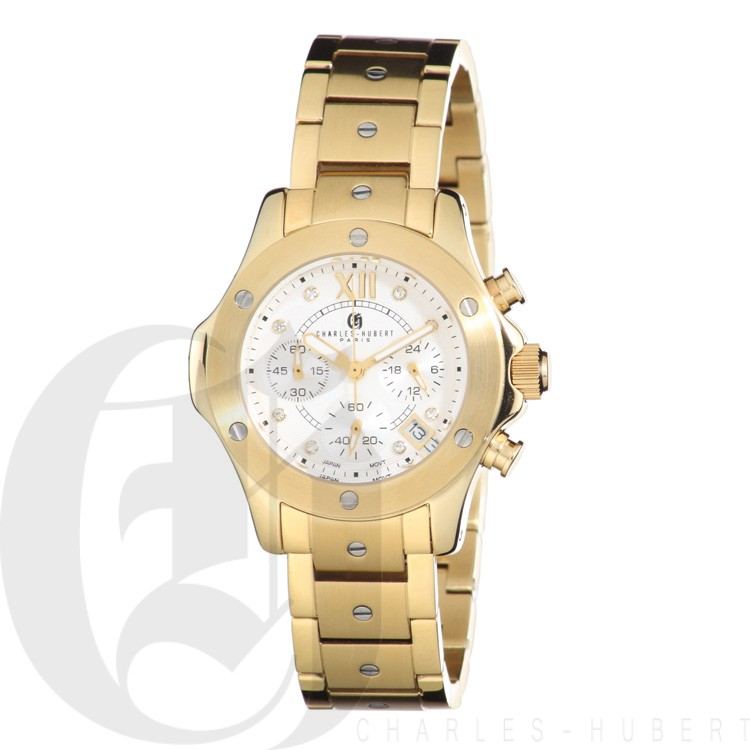 Charles Hubert Premium Collection Women's Watch #6782-G