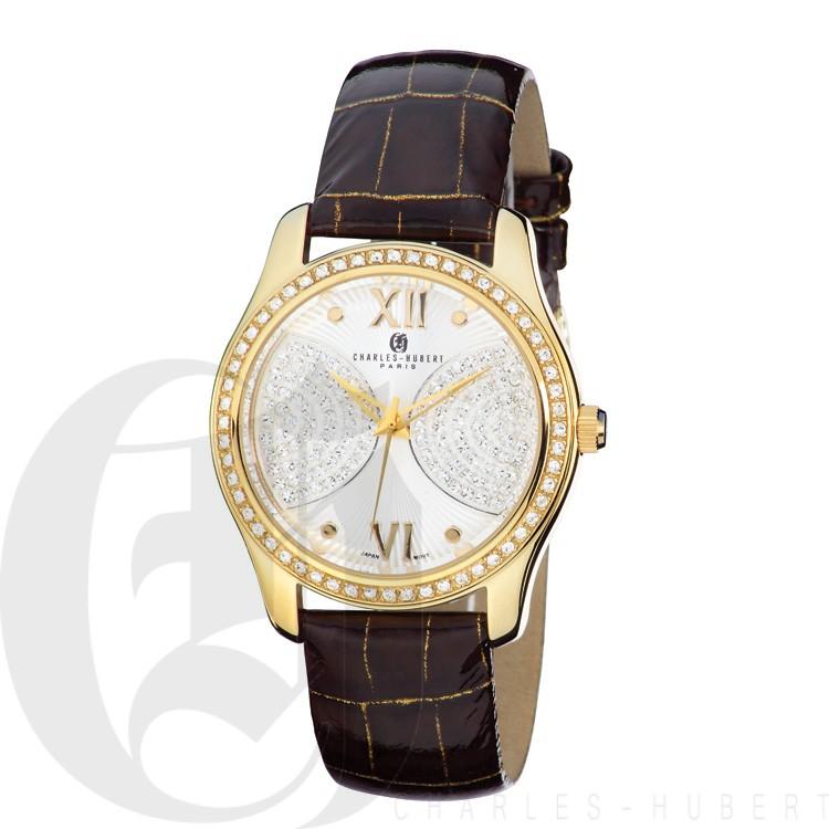 Charles Hubert Premium Collection Women's Watch #6784-G