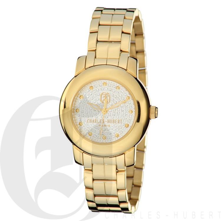 Charles Hubert Premium Collection Women's Watch #6786-GM