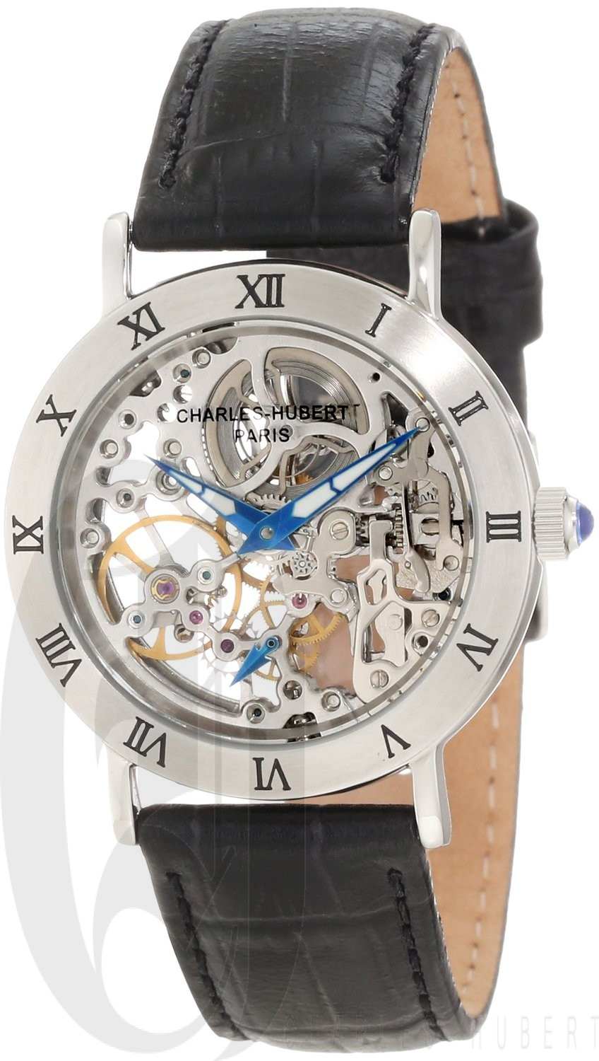 Charles-Hubert Paris Women's Stainless Steel Mechanical Watch