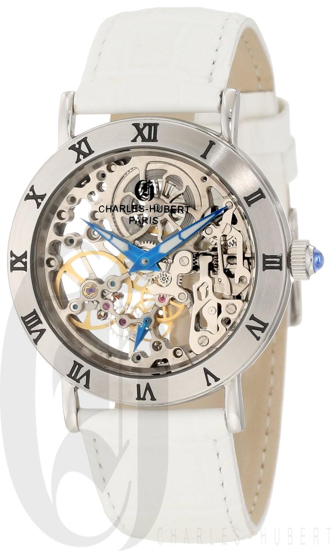 Charles-Hubert Paris Women's Stainless Steel Mechanical Watch
