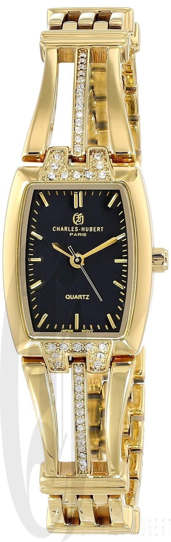 Charles-Hubert Paris Women's Gold-Plated Quartz Watch