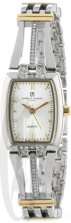 Charles-Hubert Paris Women's Two-Tone Quartz Watch