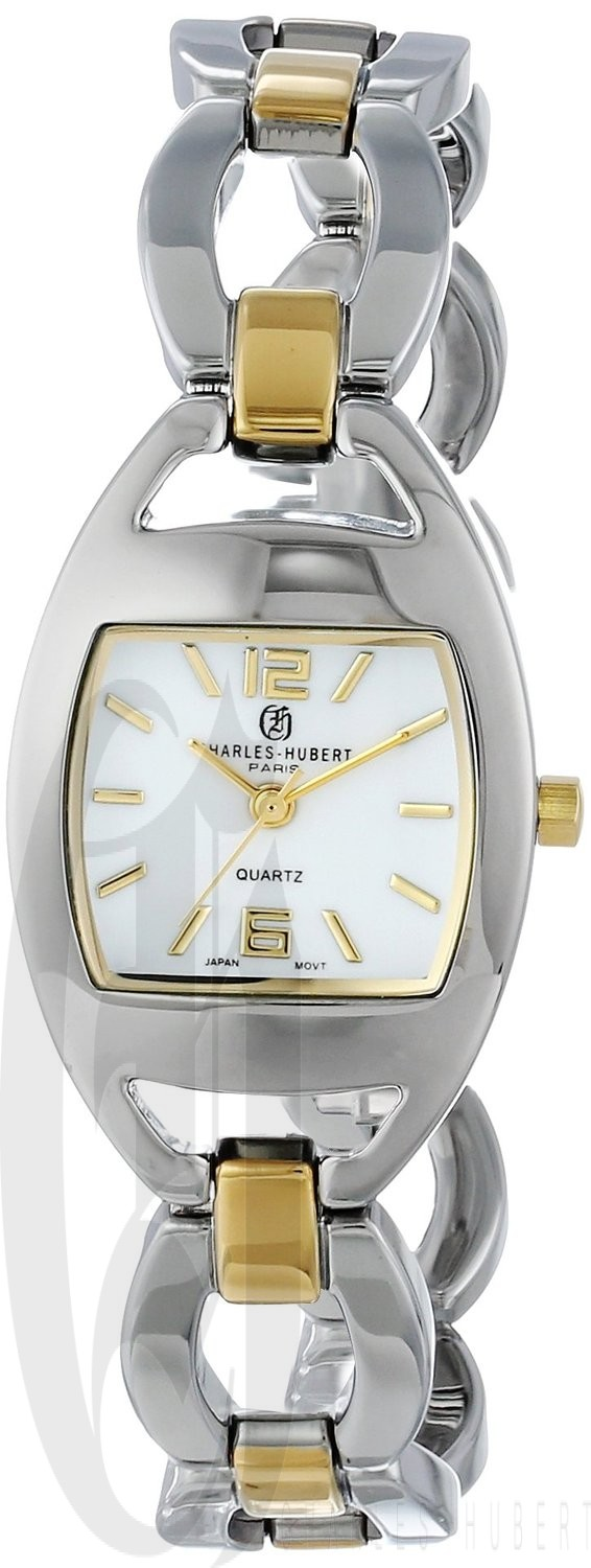 Charles-Hubert Paris Women's Two-Tone Quartz Watch