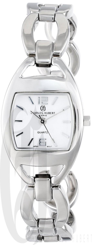 Charles-Hubert Paris Women's Chrome Finish Quartz Watch