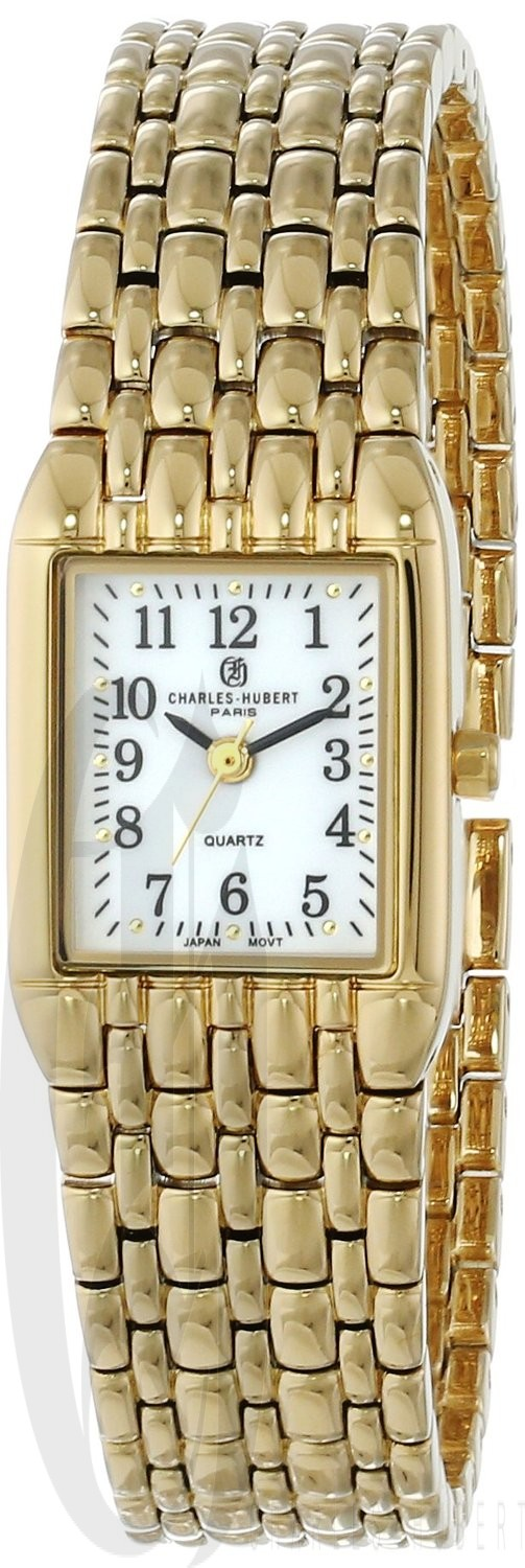 Charles-Hubert Paris Women's Gold-Plated Quartz Watch