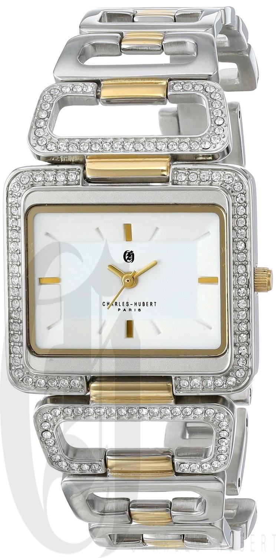 Charles-Hubert Paris Women's Two-Tone Stainless Steel Quartz Watch