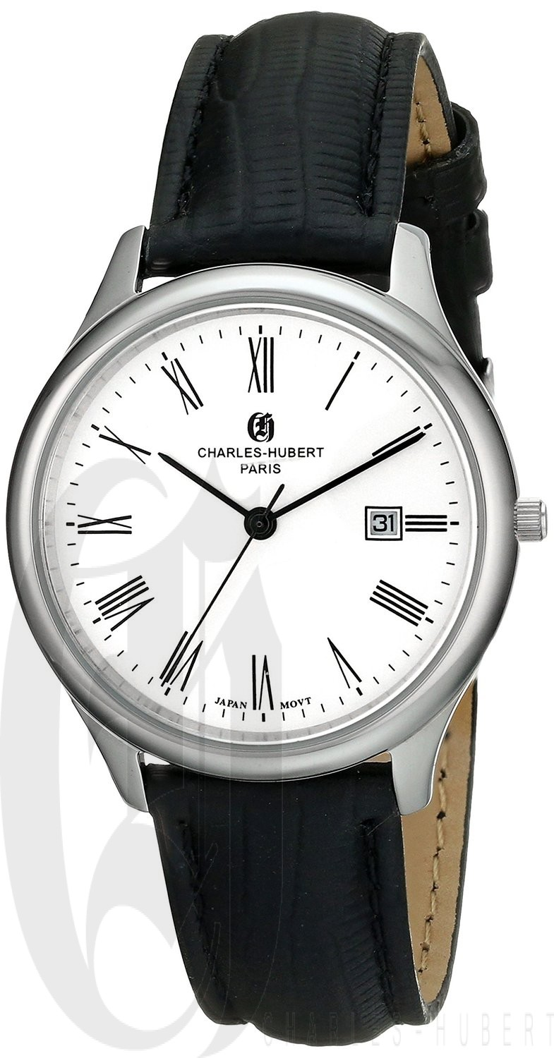 Charles-Hubert Paris Women's Stainless Steel Quartz Watch