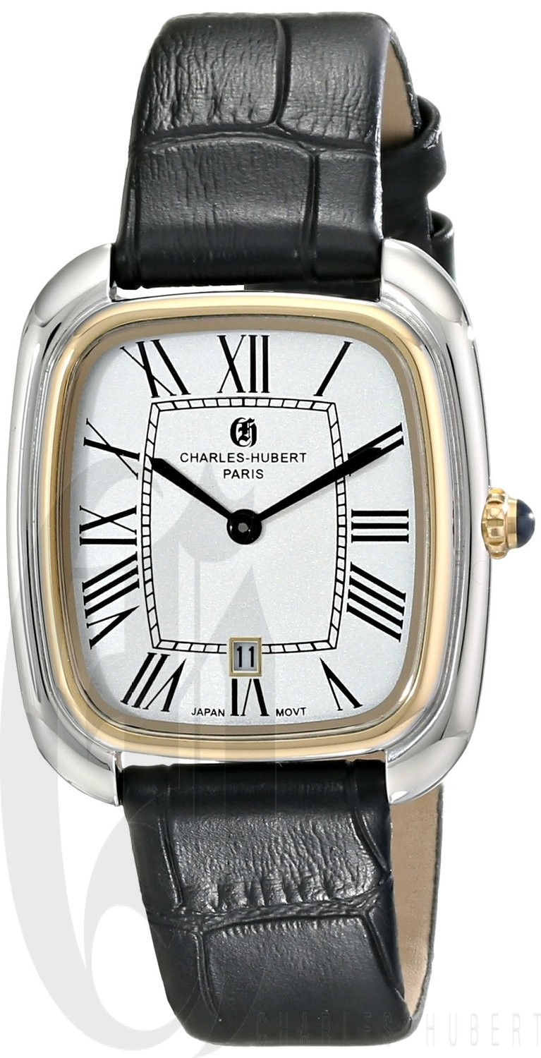 Charles-Hubert Paris Women's Two-Tone Stainless Steel Quartz Watch