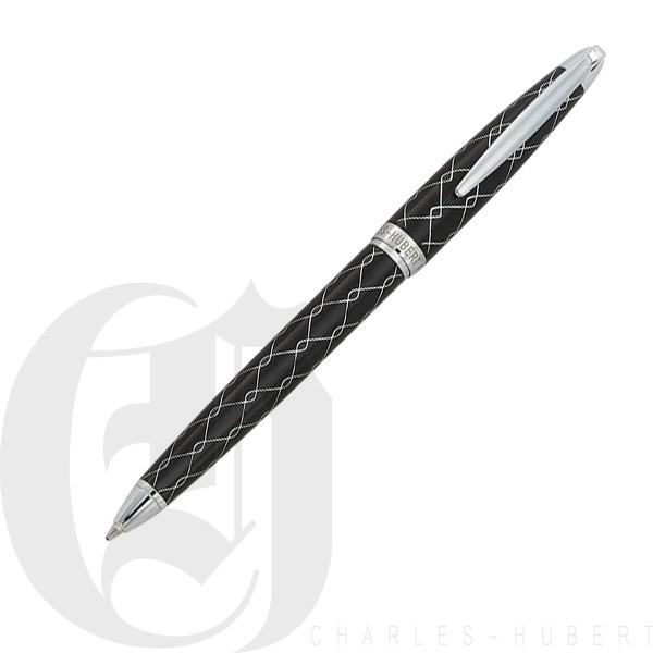 Black Wave Pattern Ballpoint Pen