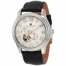 Charles-Hubert Men's Stainless Steel White Dial Automatic Watch #3894-W