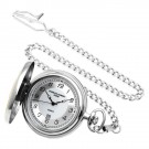 Two-Tone Hunter Case Quartz Pocket Watch