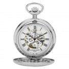 Double Demi Hunter Case Mechanical Pocket Watch