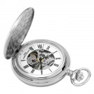 Polished Finish Double Hunter Case Mechanical Pocket Watch