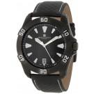 Charles-Hubert Paris Men's Black Plated Stainless Steel Quartz Watch