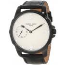 Charles-Hubert Paris Men's Black Plated Stainless Steel Mechanical Watch